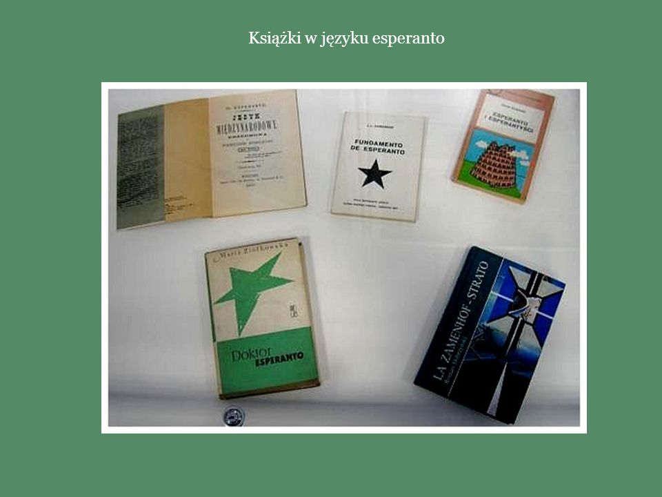 Książki w języku esperanto