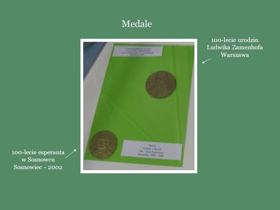 Moneta (25 KUNA) I Kongres Esperantystów Chorwackich -1997 Monety z podobizną L. Zamenhofa seria Sławni Polacy - 1979 Monety
