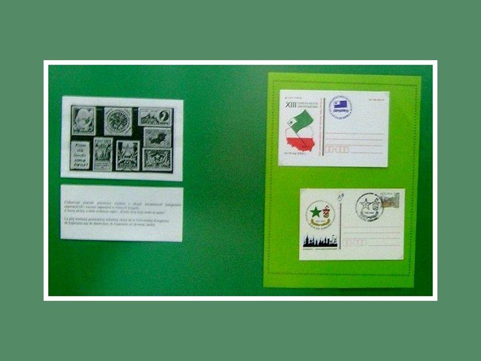 Urzędy pocztowe stosowały wielokrotnie okolicznościowe kasowniki z tekstem w języku esperanto, a esperantyści – kolekcjonerzy mogli powiększyć swoje z