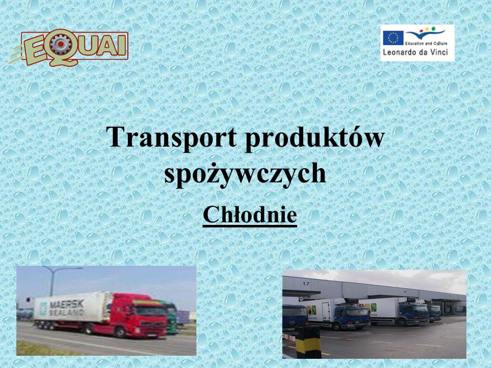 Transport produktów spożywczych Chłodnie