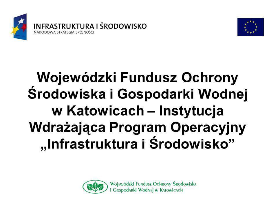 www.wfosigw.katowice.pl Zawarte umowy dotacji Nazwa beneficjentaDotacja [mln zł] Koszt całkowity [zł] Gmina Kłobuck 53,4981,41 Gmina Buczkowice 32,3143,80 Gmina Poczesna 19,7234,31 ZGO SA w Bielsku-Białej 57,2989,42 PGKiM Sp.