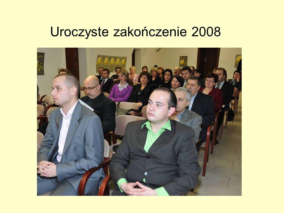 Uroczyste zakończenie 2008