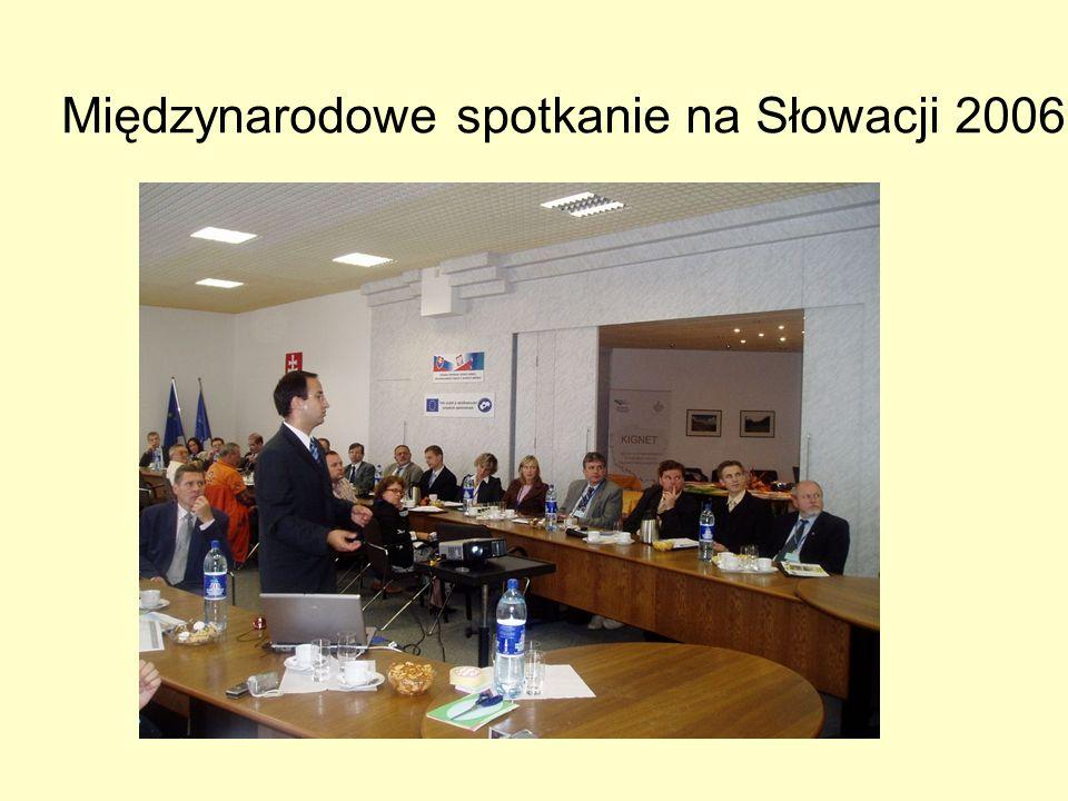 Międzynarodowe spotkanie na Słowacji 2006