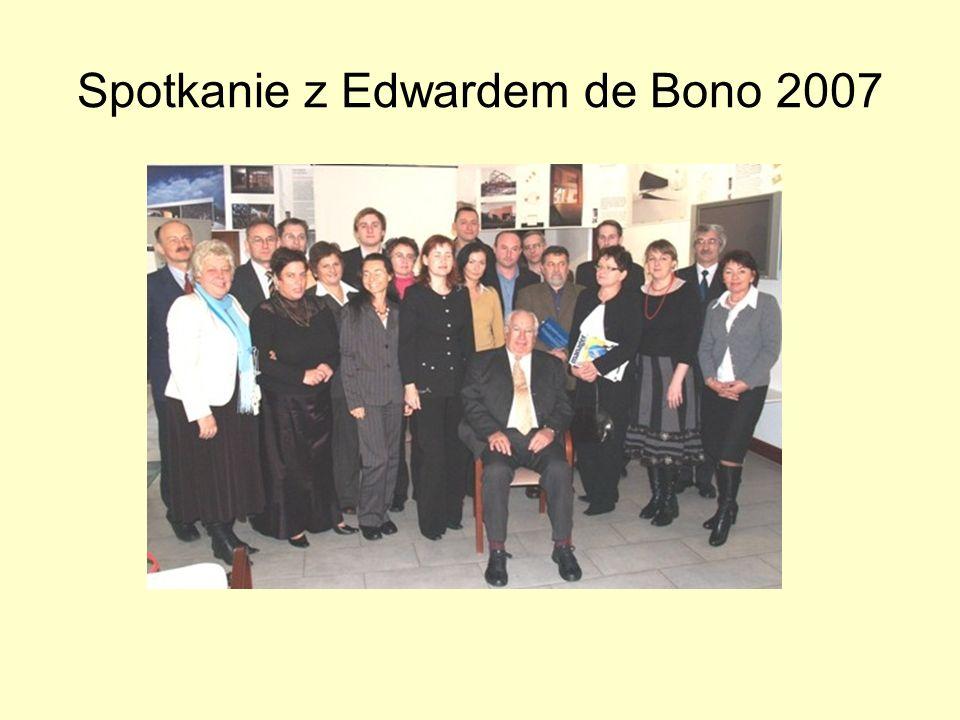 Spotkanie z Edwardem de Bono 2007