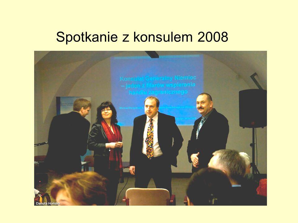 Spotkanie z konsulem 2008