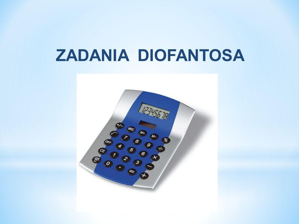 * Zadanie * Rozwiąż równanie diofantyczne 12x + 15y + 7z = 11.