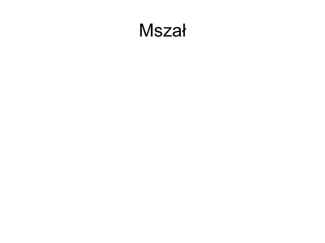 Mszał