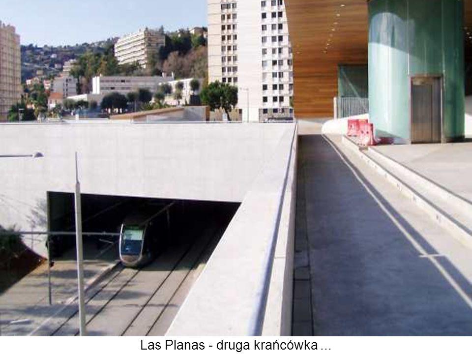 Las Planas - druga krańcówka...