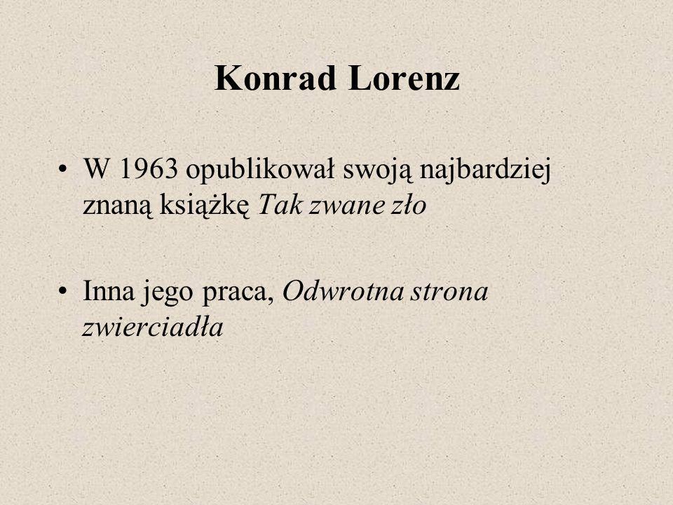 Konrad Lorenz Ruchy instynktowne (tzw.