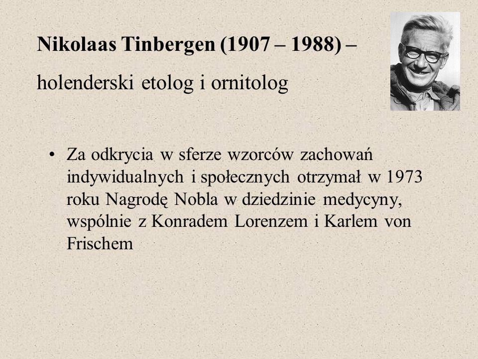 Za odkrycia w sferze wzorców zachowań indywidualnych i społecznych otrzymał w 1973 roku Nagrodę Nobla w dziedzinie medycyny, wspólnie z Konradem Loren