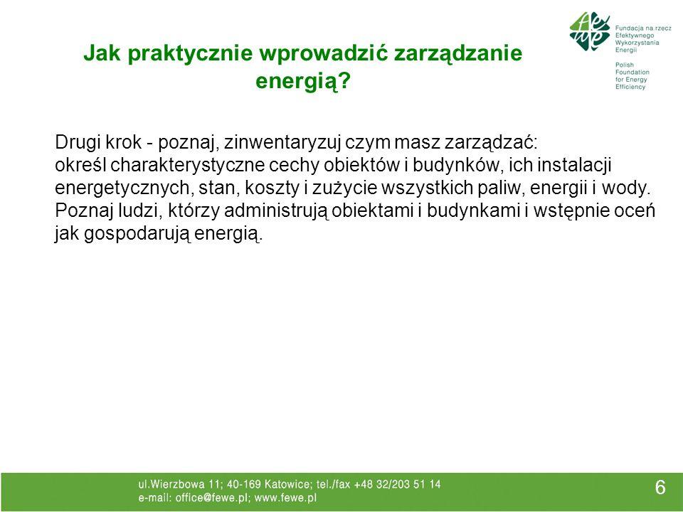 Dyrektywa 2002/91/WE 27 Wprowadza ramy dla: metodologii obliczeń zintegrowanej charakterystyki energetycznej budynków; zastosowania minimalnych wymagań dotyczących charakterystyki energetycznej nowych budynków; zastosowania minimalnych wymagań dotyczących charakterystyki energetycznej dużych budynków istniejących, podlegających większej renowacji; certyfikacji energetycznej budynków; regularnej kontroli kotłów i systemów klimatyzacji w budynkach oraz dodatkowo oceny instalacji grzewczych, w których kotły mają więcej jak 15 lat.