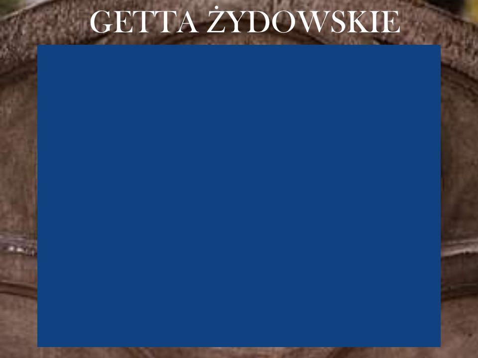 GETTA Ż YDOWSKIE