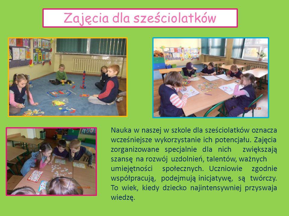 Sześciolatki goszczą od dawna w naszej szkole W naszej szkole wykorzystujemy dziecięcą radość z poznawania rzeczywistości.