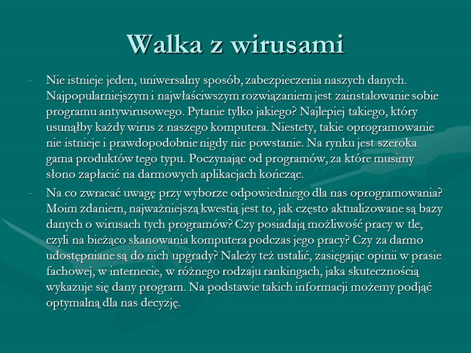 Najbardziej znany program antyszpiegowski, dostępny bezpłatnie (do prywatnego użytku), z bazą aktualizowaną przez Sieć i polskim interfejsem. Przypomi
