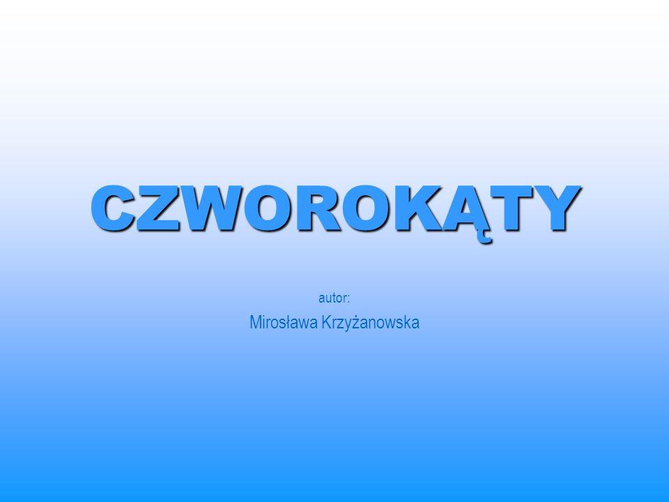 CZWOROKĄTY autor: Mirosława Krzyżanowska
