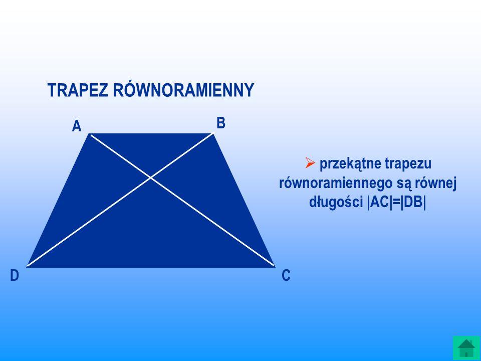 TRAPEZ PROSTOKĄTNY jest to trapez, którego jedno ramię jest prostopadłe do podstaw. To są trapezy prostokątne Zwróć uwagę, że każdy prostokąt (a więc