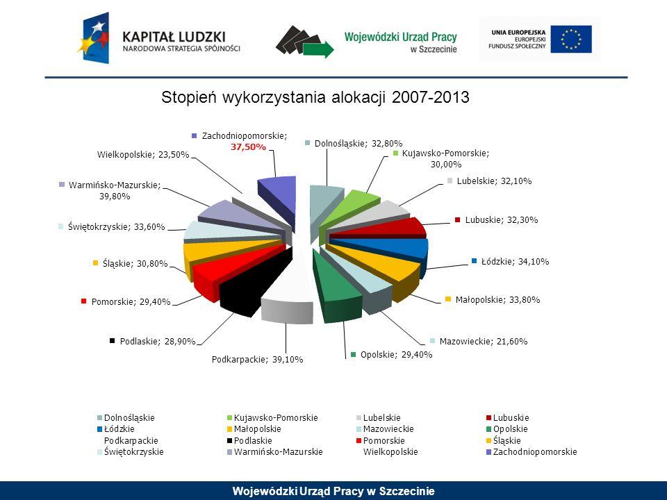 Wojewódzki Urząd Pracy w Szczecinie Konkurs nr 1/8.1.3/10