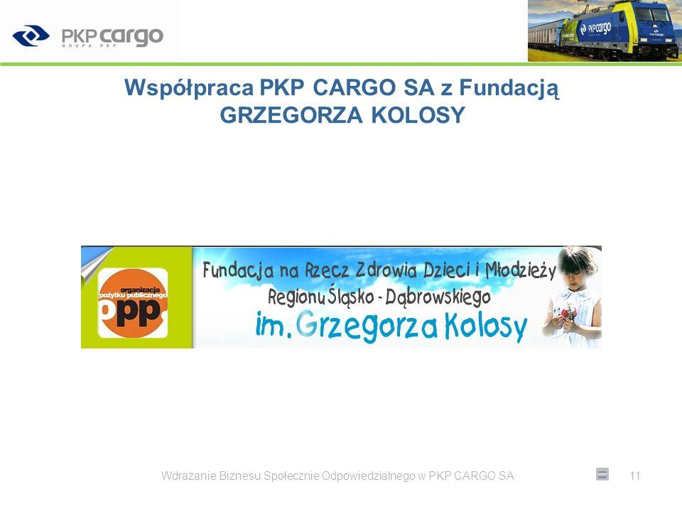 Normy jakości Zmniejszenie wypadkowości + Zwiększenie wydajności = Firma sprzyjająca środowisku Wdrażanie Biznesu Społecznie Odpowiedzialnego w PKP CARGO SA12