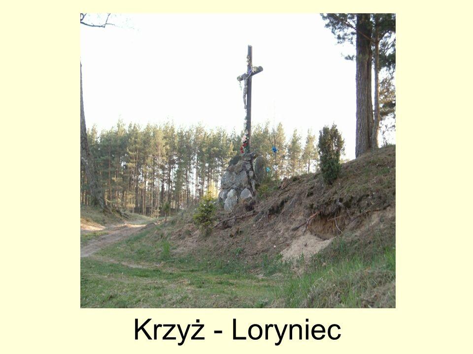 Krzyż - Loryniec