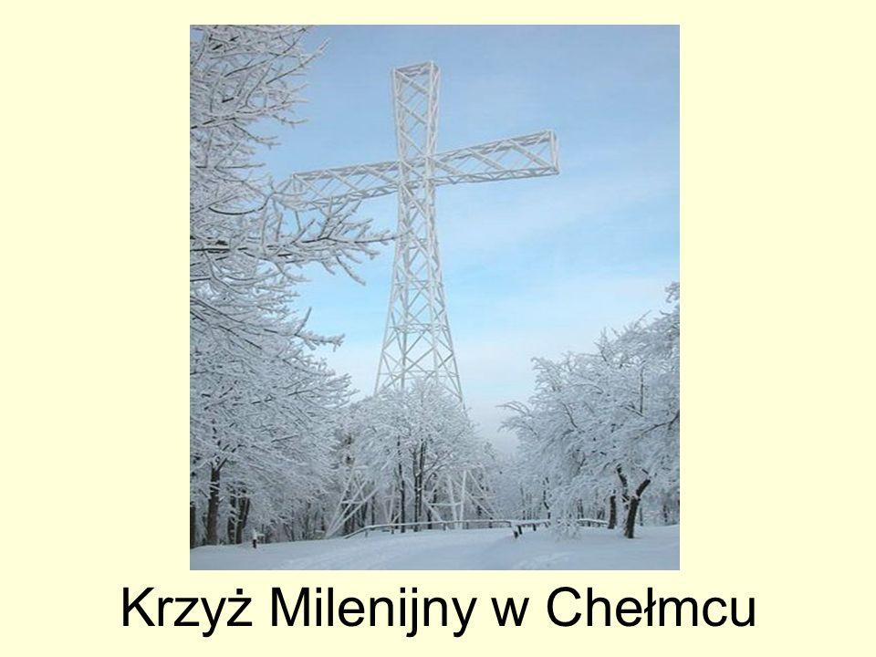 Krzyż Milenijny w Chełmcu