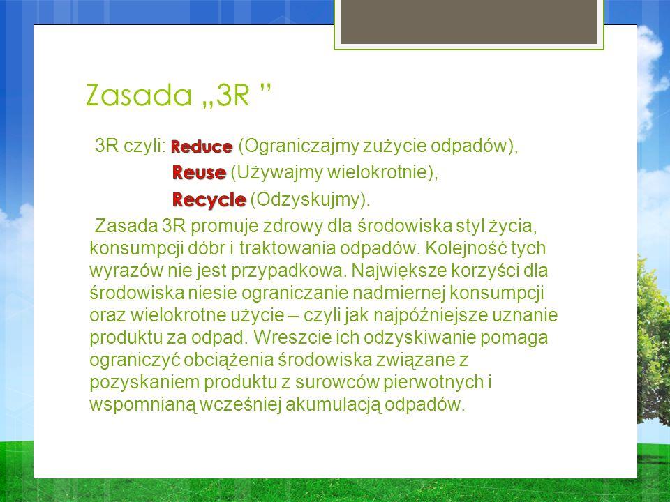 Zasada 3R