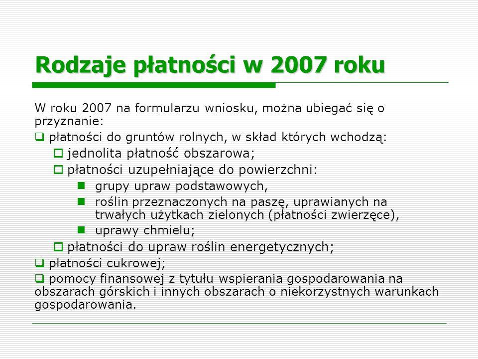 Rodzaj użytkowaniaPowierzchnia Schemat pomocowy ŁĄKA TRWAŁA4.00JPO/UPO Paszowe ŻYTO2.80JPO/UPO PSZENICA1.20JPO/UPO ZIEMNIAKI2.50JPO Sad2.50JPO Powierzchnia gruntów rolnych 13.00 Powierzchnia JPO13.00 Powierzchnia UPO4.00 Powierzchnia UPO Paszowe (PZ – Płatności zwierzęce) 4,00 Przykład 1