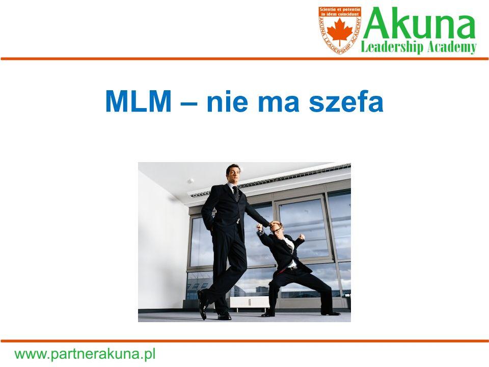 MLM – nie ma szefa