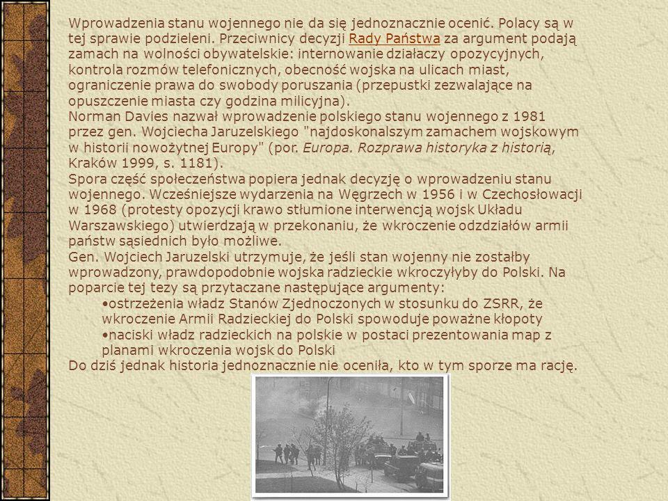 1 lutego 1982 - podwyżka cen 5 lutego 1982 - rozpoczynają się, najpierw w Świdniku, potem w innych miastach, manifestacje spacerowe - masowe wychodzen