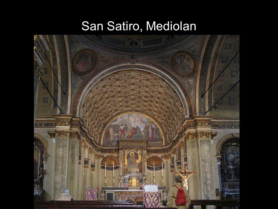 San Satiro, Mediolan