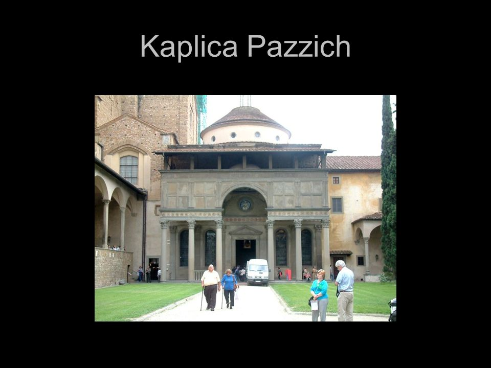 Kaplica Pazzich