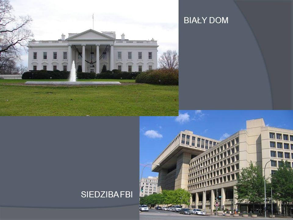 SIEDZIBA FBI BIAŁY DOM