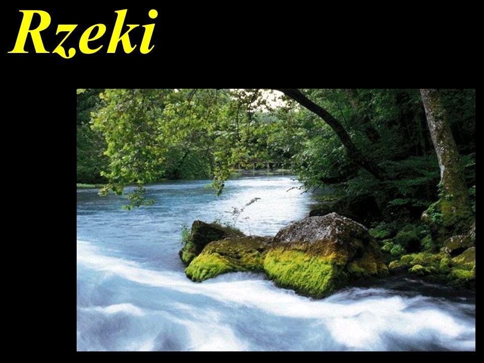 Geologiczna działalność rzek: transport, erozja, akumulacja.