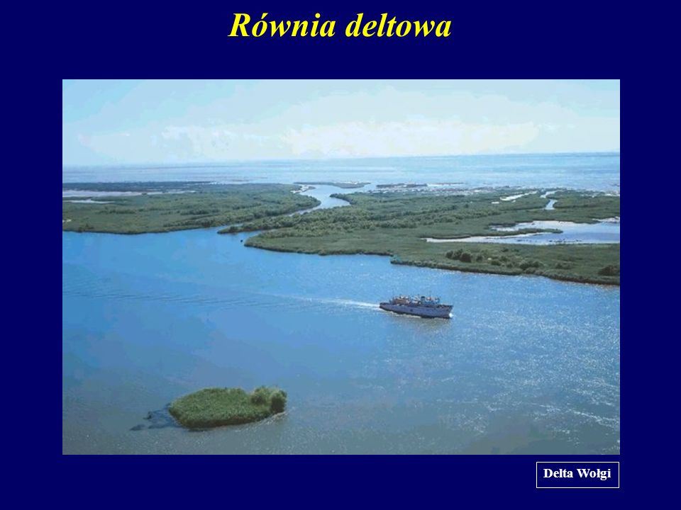 Równia deltowa Delta Wołgi