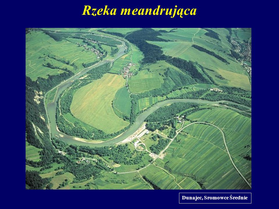 Rzeka meandrująca Dunajec, Sromowce Średnie