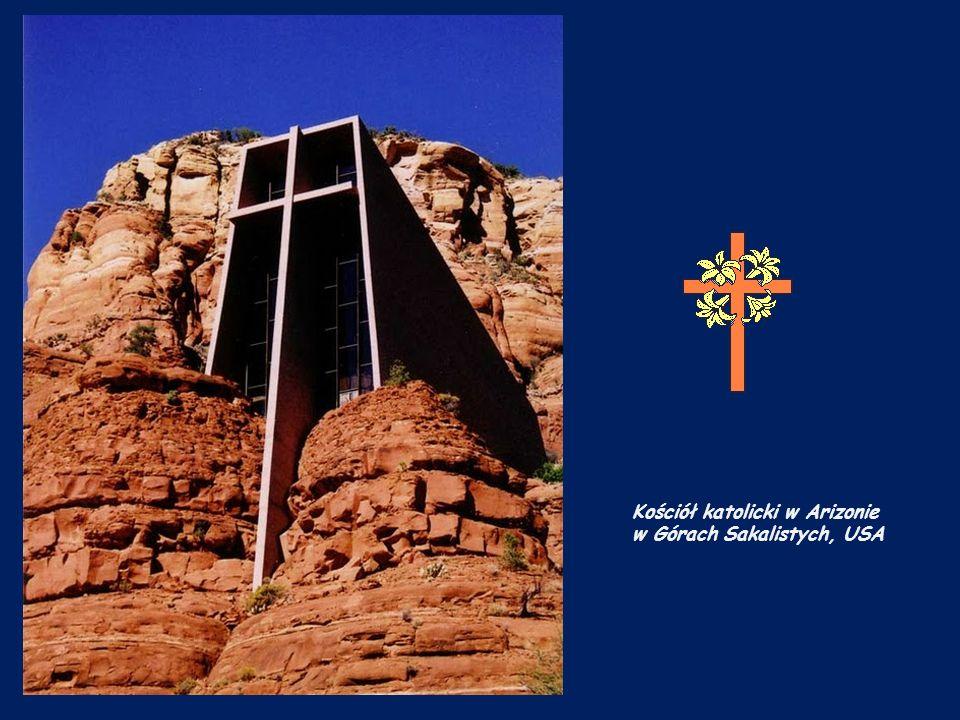 Kościół katolicki w Arizonie w Górach Sakalistych, USA