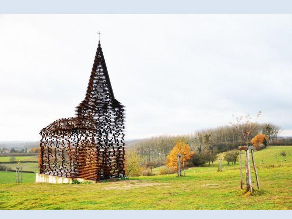Transparentny kościół – Limburgia- Belgia