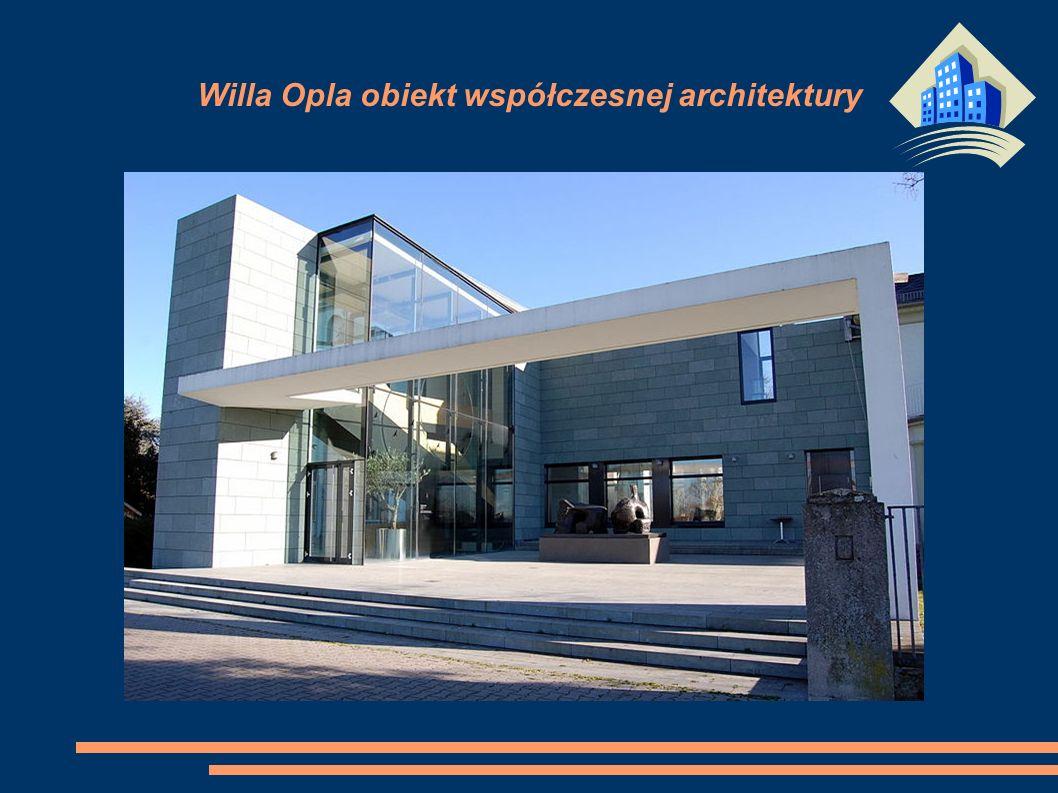 Willa Opla obiekt współczesnej architektury