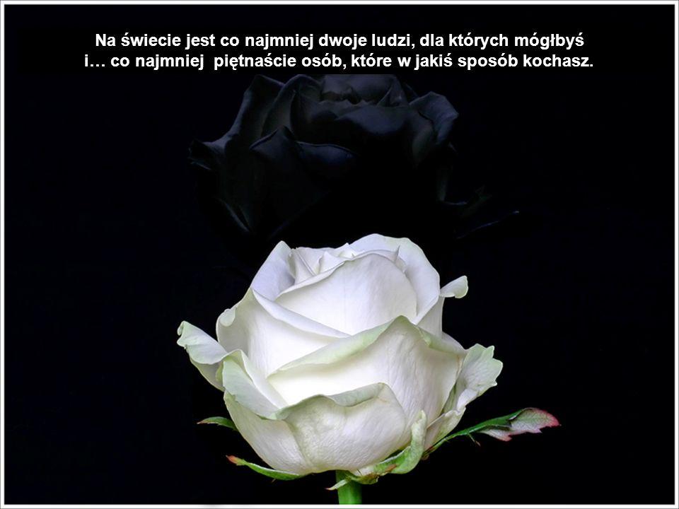 Wolę jedną różę i dobre słowo od przyjaciela, kiedy jest przy mnie, niż całą przyczepę prezentów, kiedy jestem sam.