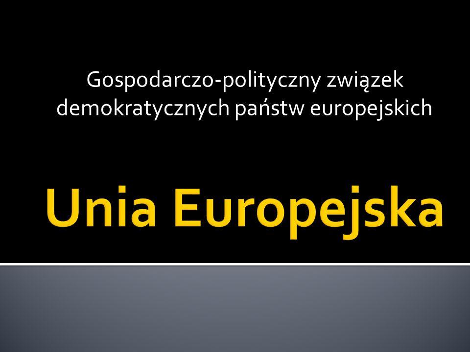 Gospodarczo-polityczny związek demokratycznych państw europejskich