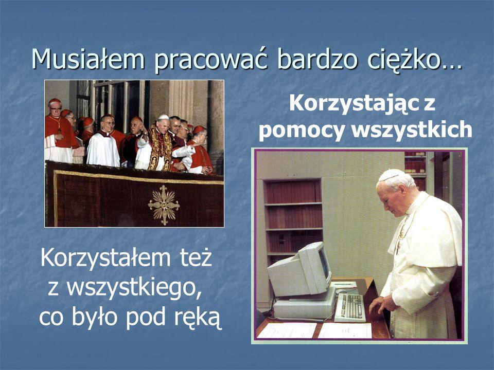 Pewnego dnia zostałem wybrany na Papieża i wkrótce moje, a być może i Wasze życie, bardzo się zmieniło... Pewnego dnia zostałem wybrany na Papieża i w