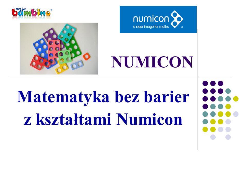 NUMICON Matematyka bez barier z kształtami Numicon
