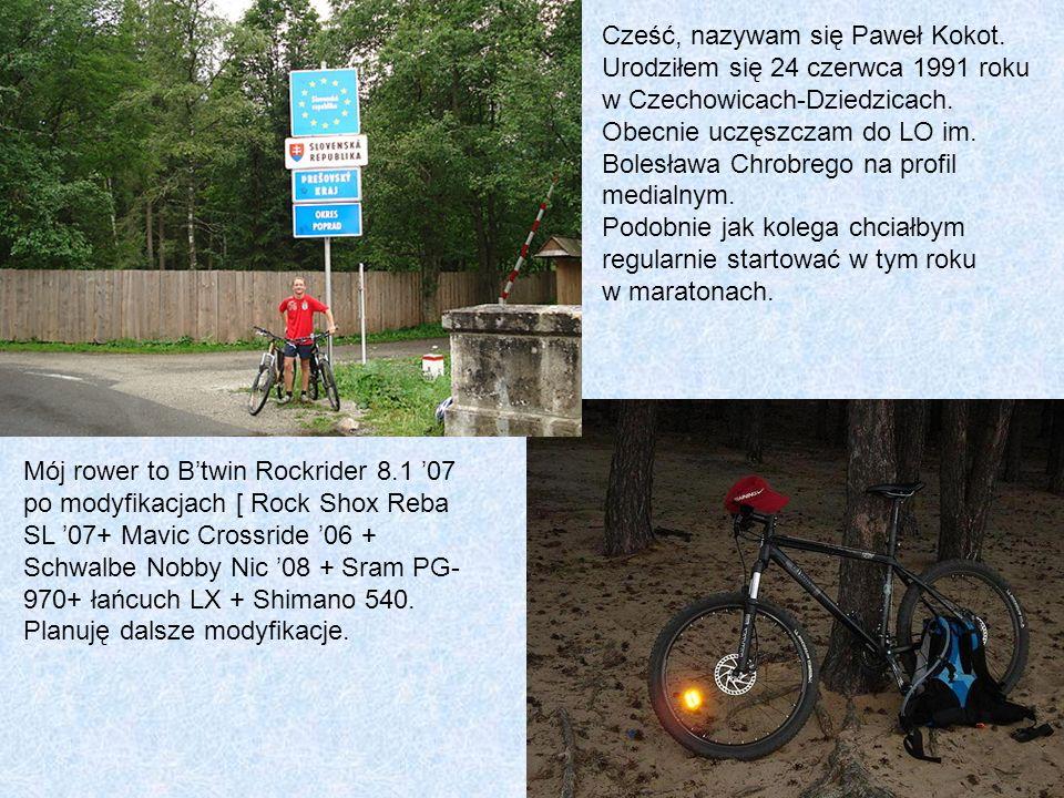 Cześć, nazywam się Paweł Kokot.Urodziłem się 24 czerwca 1991 roku w Czechowicach-Dziedzicach.