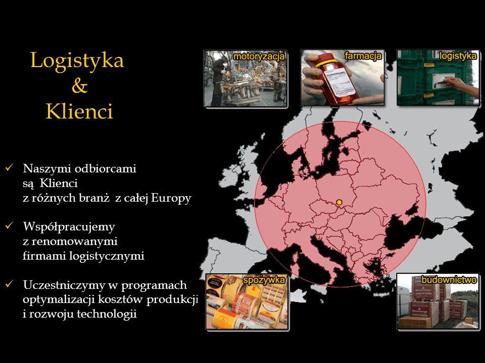 Naszymi odbiorcami są Klienci z różnych branż z całej Europy Współpracujemy z renomowanymi firmami logistycznymi Uczestniczymy w programach optymaliza