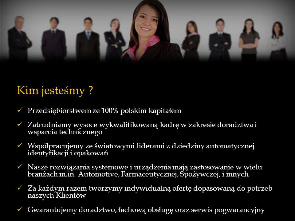 Kim jesteśmy ? Przedsiębiorstwem ze 100% polskim kapitałem Zatrudniamy wysoce wykwalifikowaną kadrę w zakresie doradztwa i wsparcia technicznego Współ