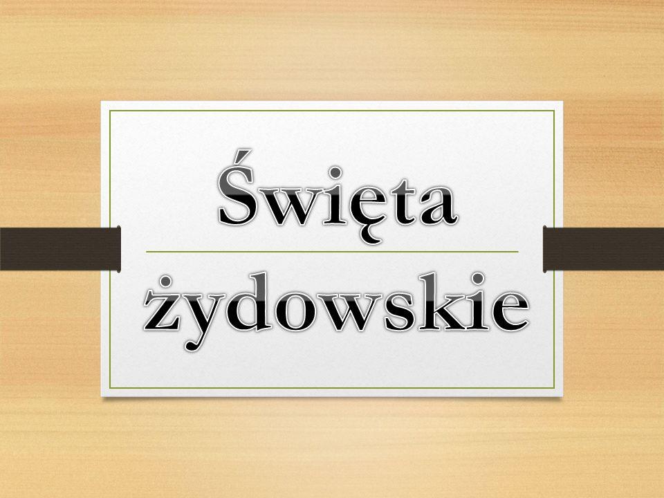4.Szawuot (6 Siwan) Następuje siedem dni po Pesach.