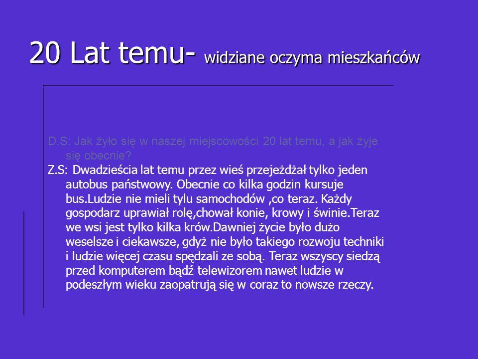 Z.SZ.W gmin ie dużo się zmie niło- pow stała obw odni ca w Woj nicz u.