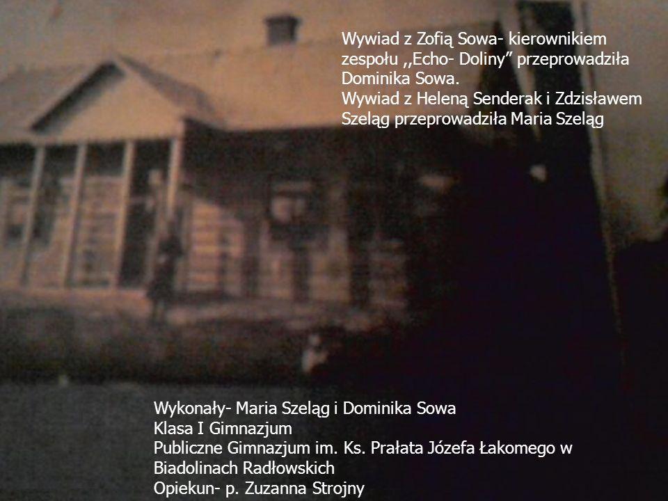 Od lewej: Dominika Sowa, Maria Szeląg