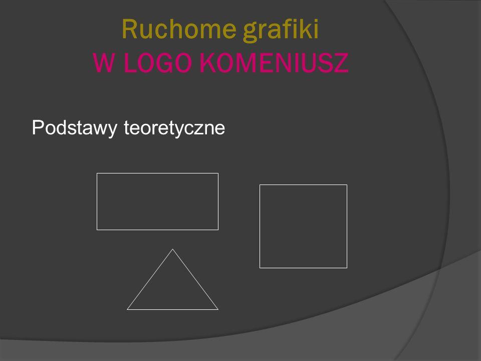 Ruchome grafiki LOGO KOMENIUSZ Szkoła z klasą 2.0 w sieci Internet