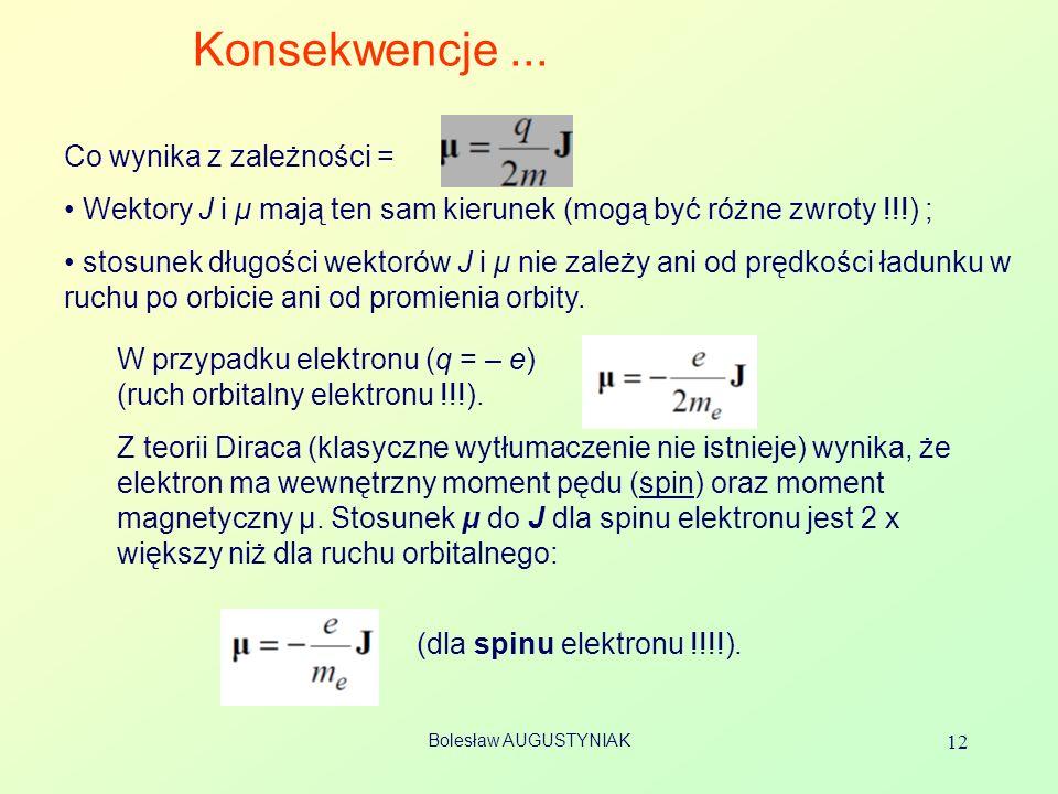 Bolesław AUGUSTYNIAK 12 Konsekwencje...
