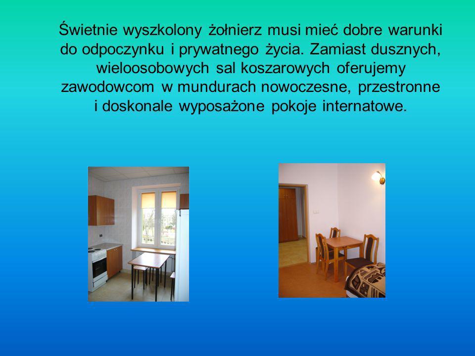 Inwestycje W celu zwiększenia liczby mieszkań dla żołnierzy służby stałej przebudowano lokale użytkowe w Zegrzu, uzyskując cztery nowoczesne mieszkania dwu- i trzypokojowe.